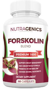 nutragenics forskolin blend premium 1600